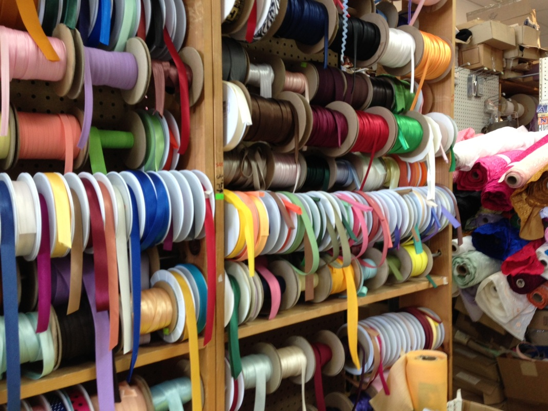Image of a new york fabric store for Designer fabric store