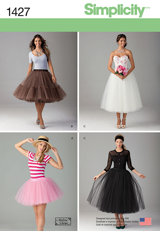 New Pattern #1427 - tulle skirt - trickier than it looks! - Andrea ...