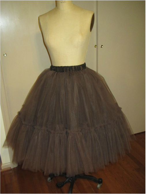 30bee1fb2f Tulle Skirt - Pattern #1427 - that inside yoke explained! - Andrea ...